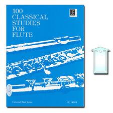 100 Classical Studies: for flute (con notas paréntesis) - ue12992 - 9783702420345
