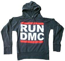 Amplified COURSE DMC Logo HipHop Vintage Pull capuche à chemise xs 34