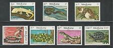 LAOS # 584-590 MNH REPTILES: Turtle, Snake, Lizard....