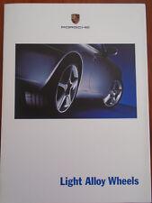 FOLLETO de luz Porsche Llantas de aleación de 2003 de febrero