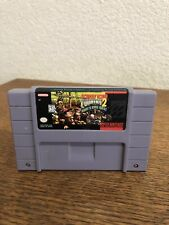 Snes Donkey Kong Country 2 Diddy's Kong Quest Cart Label Wear