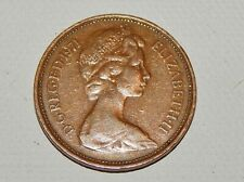 Rare United Kingdom 2 New Pence Elizabeth II, 1971