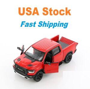 2019 Dodge RAM 1500, Ram Truck,Pick Up Truck,Kinsmart,Diecast Toy Car, 5'', 1:46