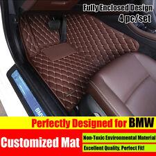 Voiture Sol Tapis Floor Mat Carpet Pad For BMW X1/X3/X4/X5/X6 2/3/5/7 Series 4PC