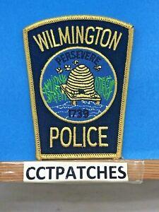 WILMINGTON, NORTH CAROLINA POLICE SHOULDER PATCH NC