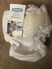 Thirsties Duo Wrap Cloth Diaper Cover Hook & Loop Closure Size 2 New
