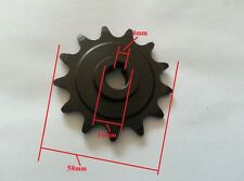 Electric Scooter Engine Motor Parts Motor Pinion Gear 13 Tooth Sprocket MY1016Z