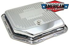Ölwanne Chrom TH350 Getriebe Dichtung Transmission Oil Pan Chevrolet GM Hot Rod