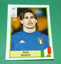 N°174 DINO BAGGIO ITALIA ITALY ITALIE PANINI FOOTBALL UEFA EURO 2000