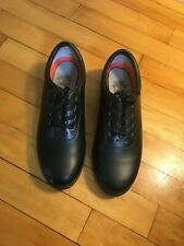Dinkles Marching Band Shoes Lace Up Black Shoes Mens 5 Womens 7