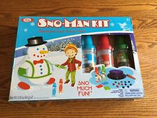 Ideal Sno-Man Kit - Decorate Your Snow Man! NIB