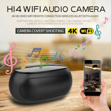 H14 1080P WIFI 4K Security Hidden Mini Spy Camera Wireless IR Bluetooth Speaker