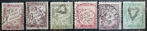 FRANCE - LOT DE 5 TIMBRES TAXES - 1893-1925 - BELLES OBLITERATIONS