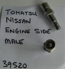 Nissan Tohatsu Outboard Fuel Connector Fitting, ONE,Mounts on Engine, code 39520