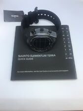 BRAND New Suunto SS016979000 Elementum Terra All Black Digital Watch