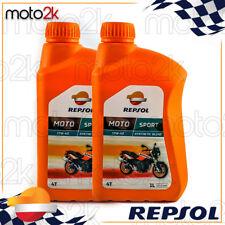 2L Aceite Motor Repsol Manillar Sintético Moto Sport 10W40 2 Litros 4T 4 Tiempos
