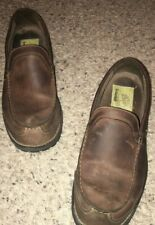 Timberland Smart Comfort System Brown Leather Upper Slip-On Loafers Size 10.5 M