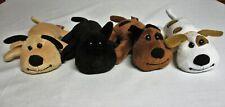 "Melissa & Doug PLUSH PUPPY DOG LOT Pepper-Bandit-Sandy-Spot 6"" Mini Stuffed toy"