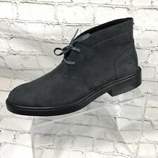 Calvin Klein Men Ankle Boots Gray Suede  Sz 8 NEW