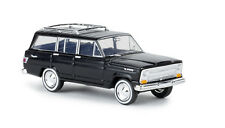 Jeep Wagoneer, negro, TD, H0 Auto Modelo 1:87 , Brekina 19862