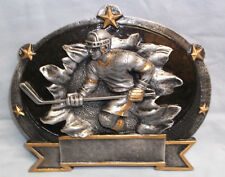3D MALE HOCKEY  trophy resin plaque RF3745