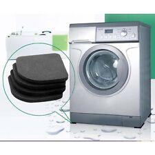 4X Unterlage Waschmaschine Gummi Antivibration Vibrationsdämpfer Trockner