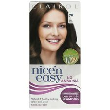 Clairol N Easy 79 Dark Brown 24 Shampoos No Ammonia