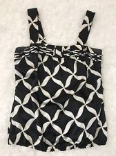 White House Black Market Women's Top Size XXS 100% Silk