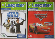 Leapster 2 Games Lightning McQueen & Star Wars !!!