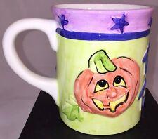 Halloween Trick Or Treat! Pumpkin Ceramic Coffee Mug, Large Size
