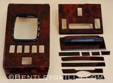 Mercedes SL R107 W107 Wood Interior Trim Burl Walnut 11 Piece Set US Version