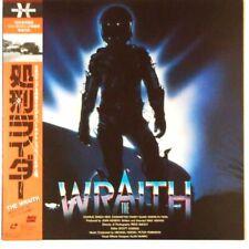 THE WRAITH Full Screen Digital Sound 1986 Film RARE Laserdisc w/Obi Japan #
