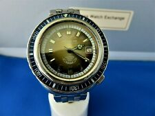 VINTAGE Diver's EAGLE STAR SQUALE 100 Atmos 2001 Stainless Automatic MEN'S WATCH
