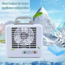 Portable Cool Air Conditioner Fan Mini Air Cooler Humidifier Charging USB K7T2