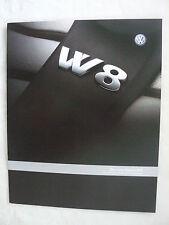 VW Passat W8 - Daten & Ausstattungen - Prospekt Brochure 07.2001 - Großformat!