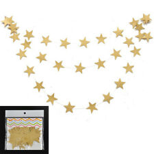 4M Star Paper Garland Bunting Home Wedding Party Banner Hanging Decoration GB