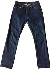 """A.P.C. """"New Standard Jean Classique"""" Button-Fly Blue Denim Sz 29 Unisex-Cut"""