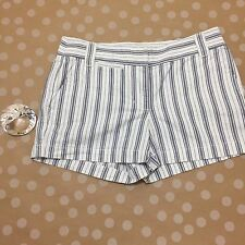 J Crew Women's Shorts Size 0 City Fit Striped