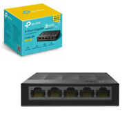 TP-Link LS1005G5Port Gigabit Ethernet Network Switch Wall/Desktop Mount BlackHub