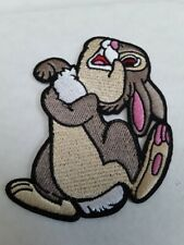 patch,  panpan, lapin, broder et thermocollant , 10/8cm