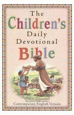 Children's Daily Devotional Bible by Robert J. Morgan (1996, Hardcover)