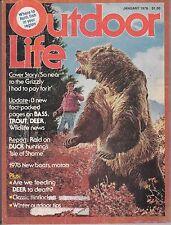 OUTDOOR LIFE MAGAZINE--JANUARY, 1978
