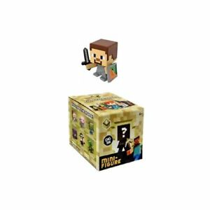Minecraft Serie 6 STEVE WITH SHIELD Single Mini Figure NEW in opened box