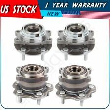 4 X Front And Rear LH or RH Wheel Hub Bearing For 2007-2013 Fits Nissan Altima