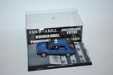 De Agostini 1:43 James Bond 007 RENAULT 11 A VIEW TO A KILL Nr.53    PVC-BOX