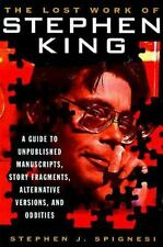 The Lost Work Of Stephen King: A Guide to Unpublished Manuscripts, Sto-ExLibrary