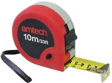 10m X 32mm Double Locking Jumbo Measuring Tape - Amtech