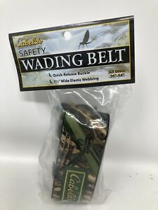 Cabelas Elastic Adjustable Wading Belt Max 4 Camouflage MADE IN USA