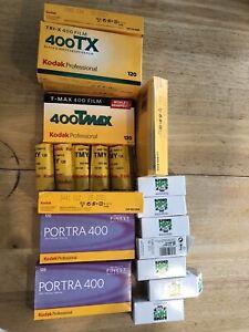expired 120 film lot