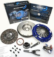 Blusteele HEAVY DUTY Clutch kit for NISSAN navara D40 & solid FLYWHEEL YD25DDTI